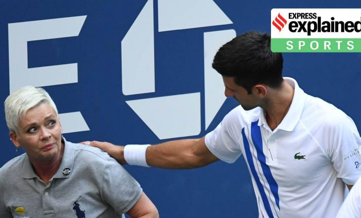 Novak Djokovic diskualifikohet nga turneu US Open