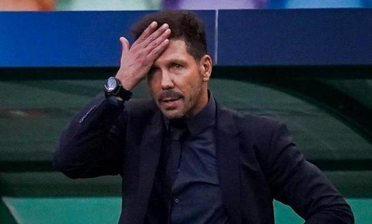 Diego Simeone është infektuar me Covid 19