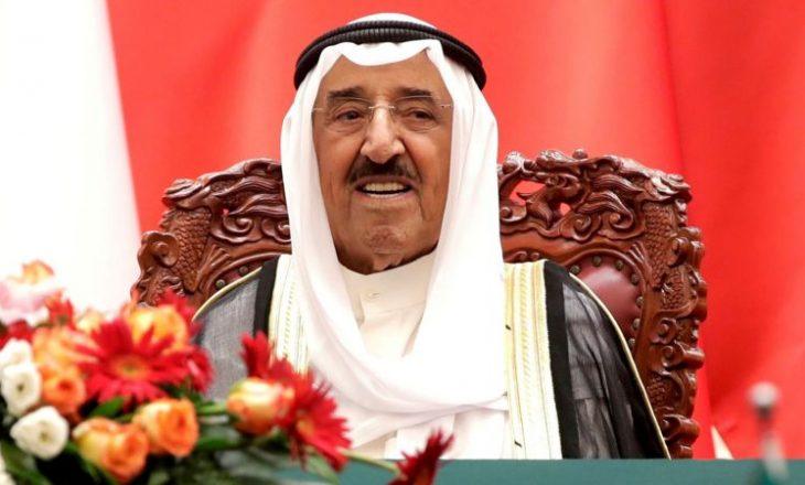 Emiri i Kuvajtit, Sheiku Sabah al-Saba, vdes në moshën 91 vjeçare