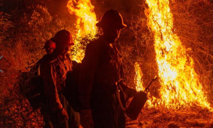 35 të vdekur në zjarret masive në Bregun Perëndimor – pamundësohet kërkimi për të zhdukurit