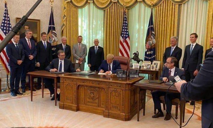 Oda Amerikane beson se marrëveshja e Uashingtonit hap mundësi të reja për zhvillim ekonomik për të dyja vendet