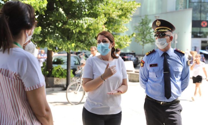 800 qytetarë gjobiten për mosrespektim të masave anti-COVID