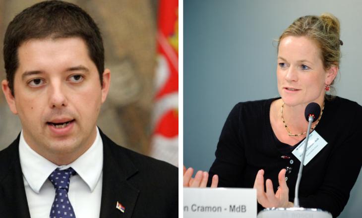 Gjuriq: Viola von Cramon nuk është një luftëtare e vërtetë për demokracinë