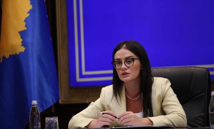 Ministrja Haradinaj i njofton ambasadorët rreth marrëveshjes së Uashingtonit