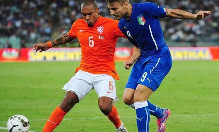 Italia mposht Holandën si mysafir