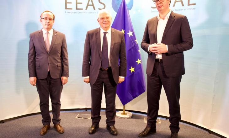 Takimi i radhës Kosovë-Serbi në Bruksel më 28 shtator