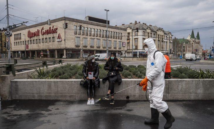 Në Hungari rekord të infektimeve brenda 24 orëve