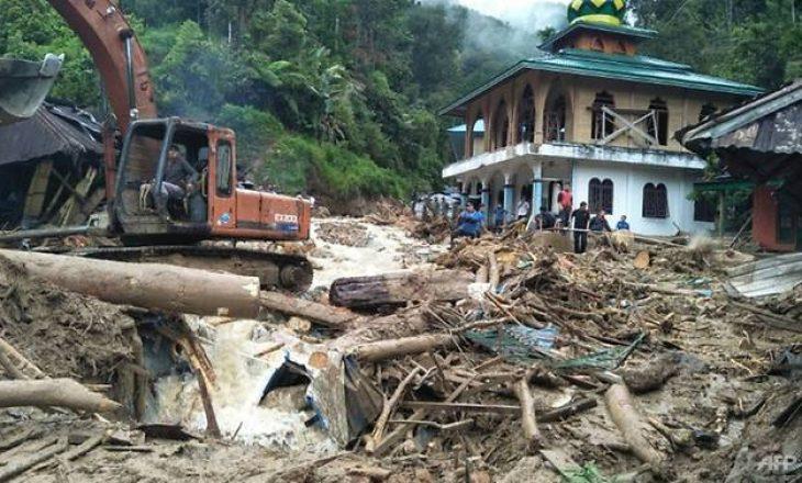 Nga rrëshqitja e dheut në Indonezi, shënohen 10 viktima