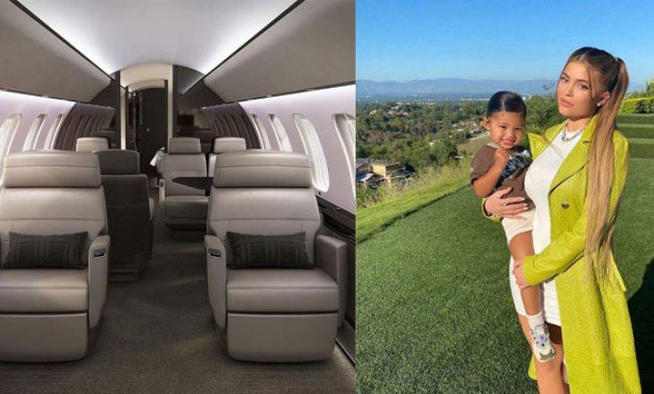 Një shëtitje brenda avionit 73 milionë dollarësh të 23-vjeçares, Kylie Jenner