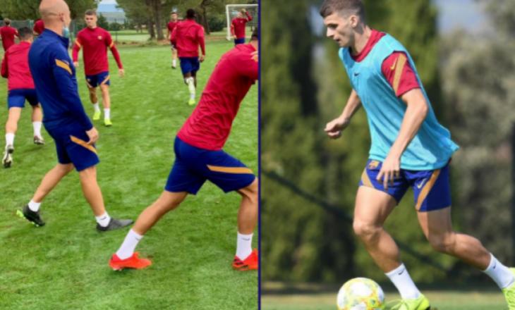 Labinot Kabashi rikthehet në stërvitje te Barcelona B