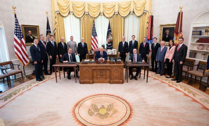 Shtëpia e Bardhë vlerëson lartë marrëveshjen ekonomike Kosovë-Serbi