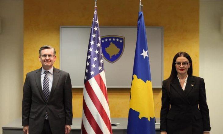 Ministrja Haradinaj zhvillon takime për formalizimin e njohjes nga Izraeli
