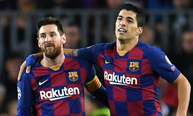 Suarez krenar me mbrojtjen që i bëri Messi