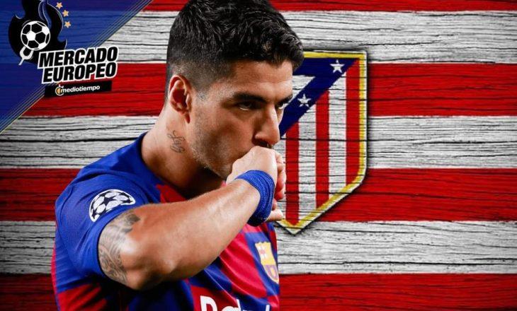 Suarez konfirmohet tek Atletico