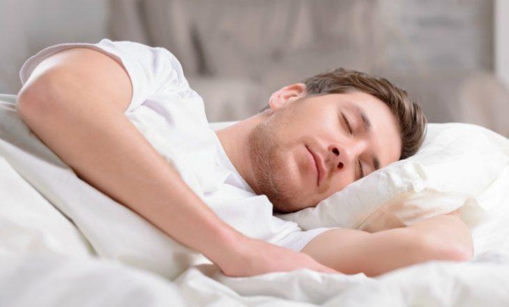 Përfitimet e të fjeturit në shpinë