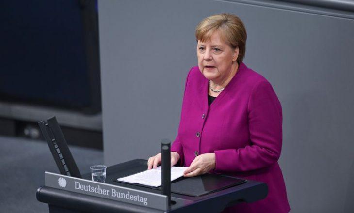 Merkel në parlamentin gjerman: vjeshta, fazë e vështirë me pandeminë
