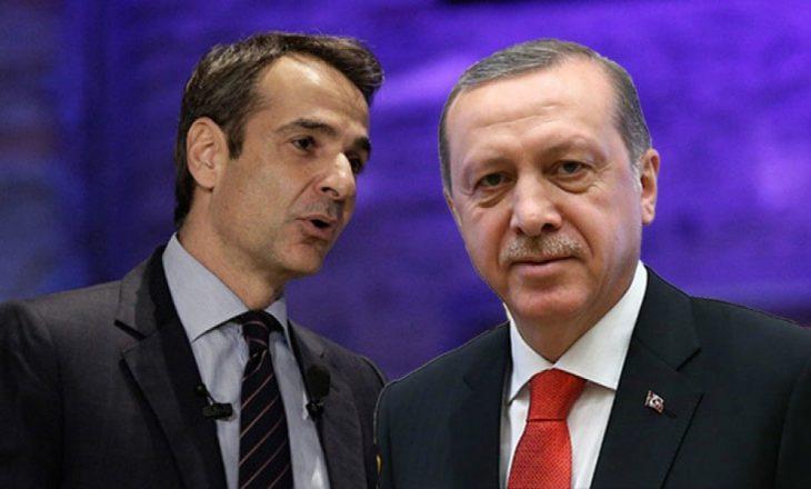 Erdogna dhe Mitsotakis do të flasin për zgjidhjen e krizës