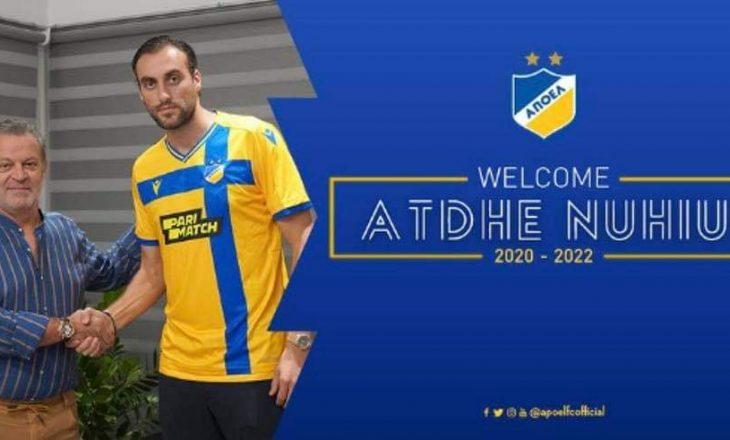Zyrtare: Atdhe Nuhiu kalon te qipriotët e APOEL