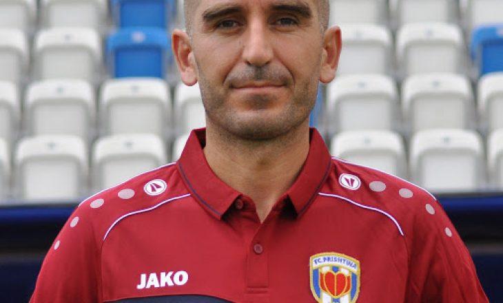 Dallku nuk është më trajner i FC Prishtina