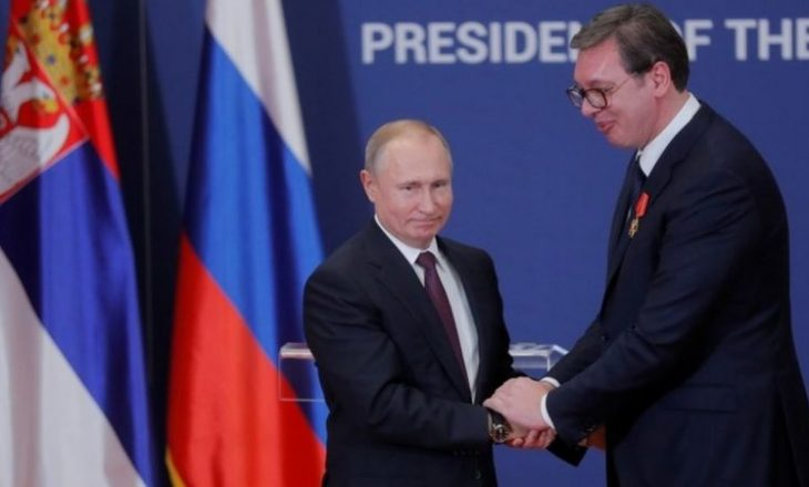 Putin i kërkon falje Vuçiq-it
