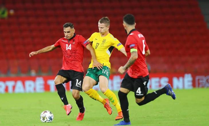 Shqipëria befasohet nga Lituania, humbë me rezultat minimal