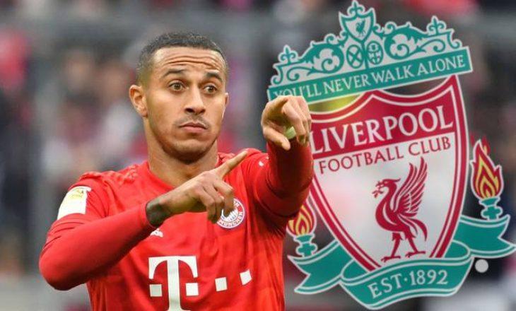 Është arritur marrëveshja – Thiago Alcantara te Liverpool