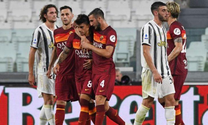 Formacionet zyrtare të derbit Roma vs Juventus, debuton Kumbulla