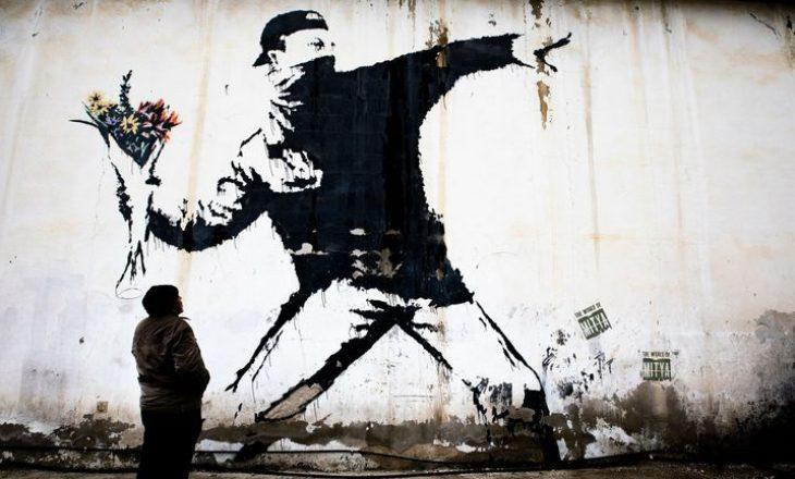 Banksy rrezikon të humbasë të drejtat për punët e tij për shkak të anonimitetit