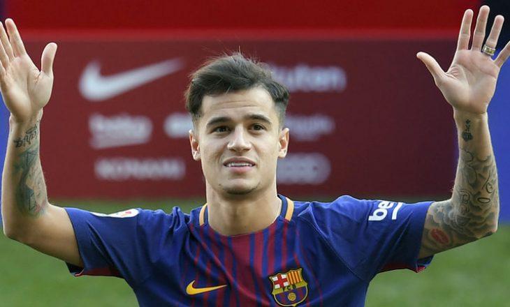 Barcelona do ta mbajë Philippe Coutinhon