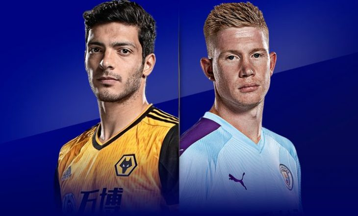 Wolves vs Manchester City – Formacionet zyrtare