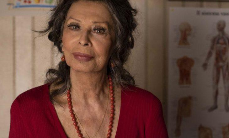 Sophia Loren po luan në filmin e parë pas 11 vjetësh