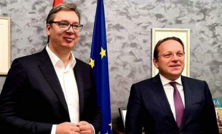 Vuçiq: Takim i mirë me komisionerin për zgjerim Oliver Varhelyi
