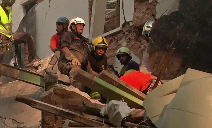 1 muaj që nga shpërthimi në Bejrut – shpëtuesit hetojnë rrahje të zemrës nën rrënoja