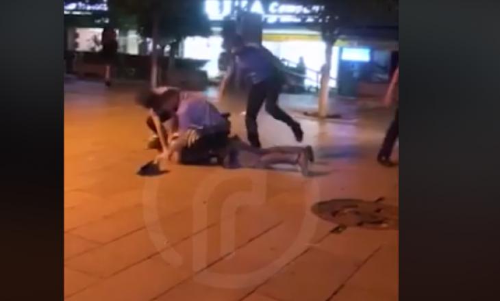 Policia rrahë një qytetar në një shesh të Prishtinës
