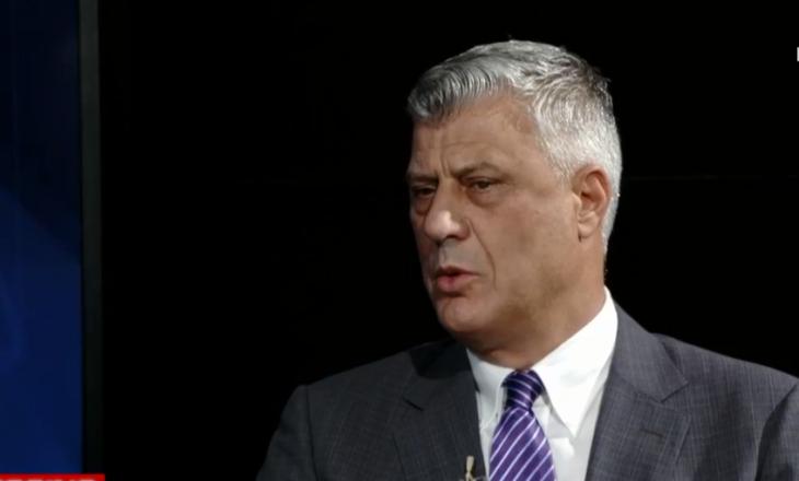 Thaçi: Më 4 shtator Kosova humbi shansin historik për njohje nga Serbia