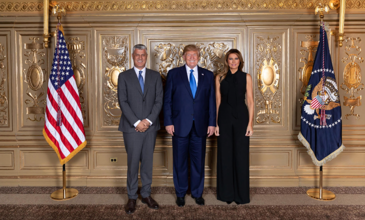 Thaçi nderon Trumpin me Urdhrin e Lirisë – e fton presidentin e SHBA-së për vizitë në Kosovë