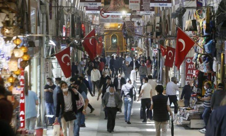 Turqi, 74 viktima në 24 orët e fundit nga Covid-19
