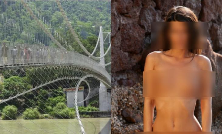 Arrestohet një grua në Indi – kaloi nëpër urën e shenjtë lakuriq
