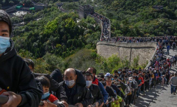 """Mbi 637 milionë njerëz udhëtuan drejt Kinës për """"Javën e Artë"""""""