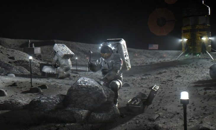 Ekziston mundësia të ndërtohet një bazë njerëzore në Hënë