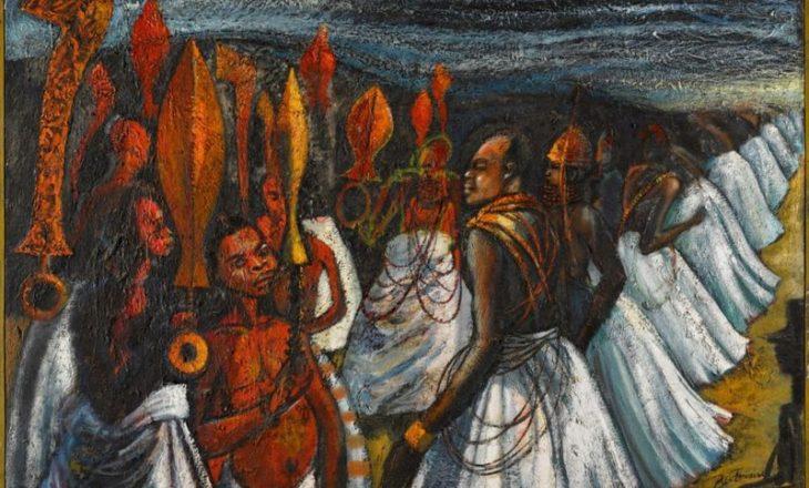 Kryevepra Nigeriane e piktorit Ben Enwonwu ka dalur në shitje