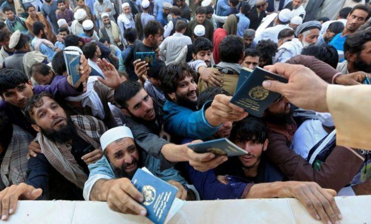 Në turmën që prisnin për viza mbetën shumë të vrarë e të plagosur