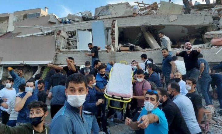 Nga tërmeti në Izmir, gjashtë persona kanë humbur jetën