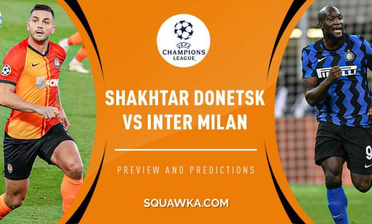 Formacionet zyrtare të ndeshjes Shakhtar – Inter