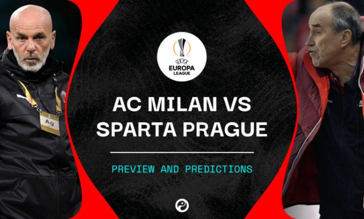Formacionet zyrtare të ndeshjes Milan vs Sparta Prague