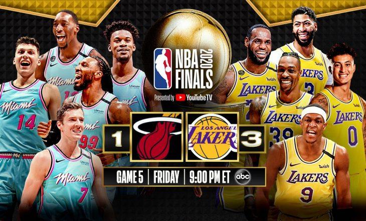 Lakers shënon fitore në ndeshjen e katër finale në NBA