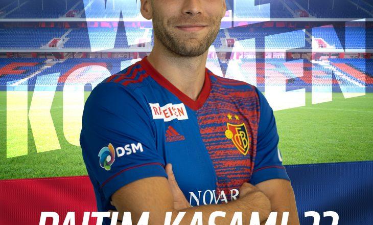 Zyrtare: Pajtim Kasami lojtar i Basel-it