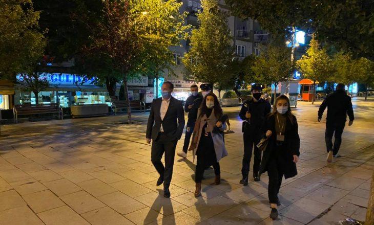 Ministri Zemaj del në inspektim bashkë me Policinë – mbyllen disa lokale
