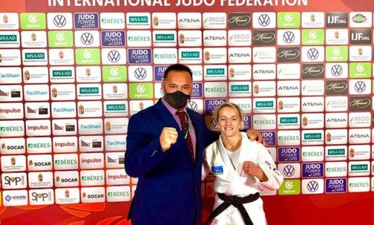 Distria Krasniqi fiton medaljen e artë në Budapest