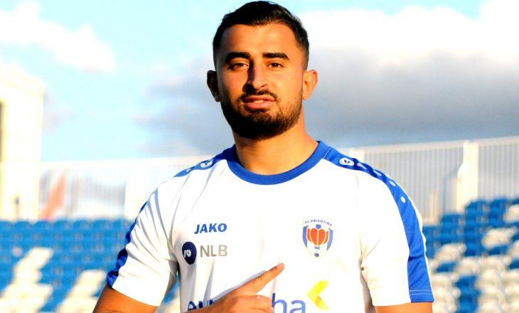 FC Prishtina prezanton Ahmed Radaoui